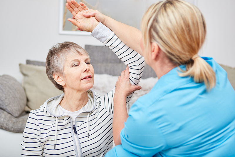 Fysiotherapie bij Parkinson Heemskerk